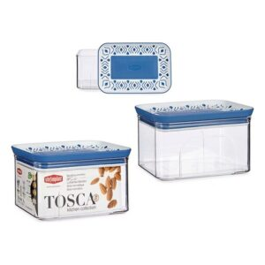 Caixa Stefanplast Tosca Azul Plástico (700 ml)