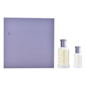Conjunto de Perfume Homem Bottled Hugo Boss EDT (2 pcs)