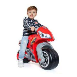 Andarilho Moto Cross Premium Moltó Vermelho (18+ meses)