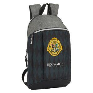 Mochila Casual Hogwarts Harry Potter Preto Cinzento