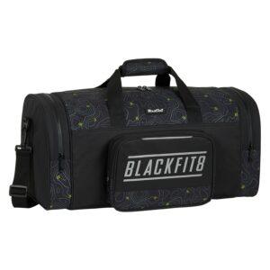 Saco de Desporto BlackFit8 Topography Preto Verde (27 L)