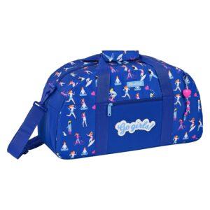 Saco de Desporto BlackFit8 Go Girls Azul (20 L)