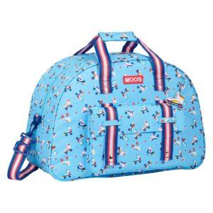 Saco de Desporto Rollers Moos Multicolor Azul Claro (21 L)