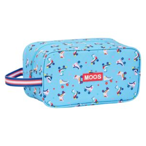 Bolsa para Sapatos de Viagem Rollers Moos Multicolor Azul Claro
