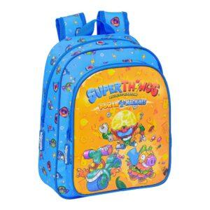 Mochila Infantil SuperThings Azul Multicolor