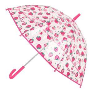 Guarda-chuva Bolha BlackFit8 Berry Brilliant Cor de Rosa Ø 76 cm