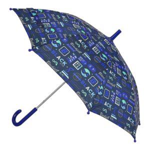 Guarda-Chuva BlackFit8 Retro Azul Marinho Ø 76 cm