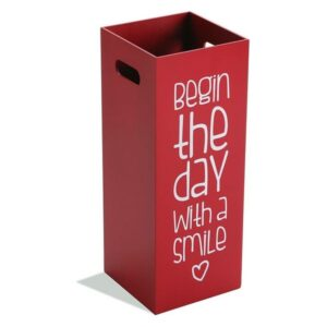 Suporte para guarda-chuvas Begin The Day With a Smile Madeira MDF (21 x 53 x 21 cm)