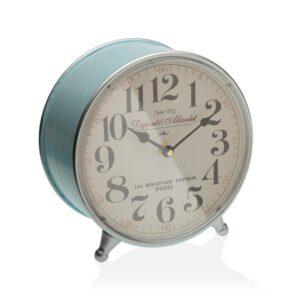 Relógio Tafelklok Água-marinha Metal (5 x 22,5 x 21,5 cm)