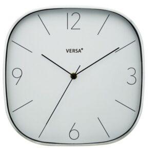 Relógio de Parede Prateado Alumínio (4,3 x 29 x 29 cm)