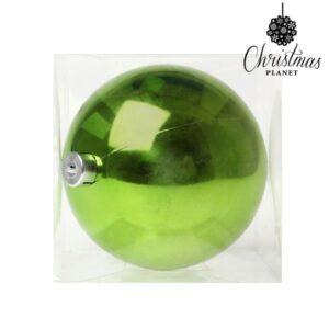 Bola de Natal 5221 15 cm Plástico Verde