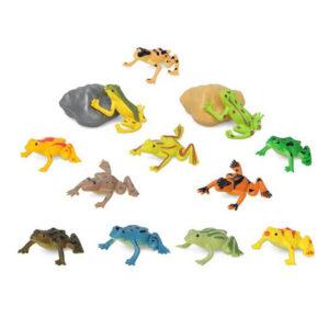 Conjunto Animais Selvagens 110197 Rã (14 Pcs)