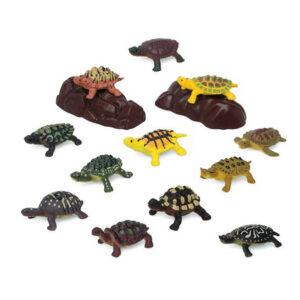 Conjunto Animais Selvagens 110203 Tartaruga (14 Pcs)