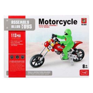 Jogo de Construção Motocicleta 117585 (113 Pcs)
