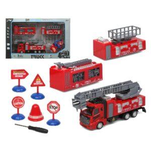 Camião de Bombeiros Fire Rescue (43 x 27 cm)