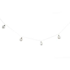 Grinalda de Luzes LED DKD Home Decor Natal (5 x 80 x 80 cm)
