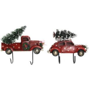 2 Bengaleiros DKD Home Decor Metal Carro  (25 x 6 x 20 cm)
