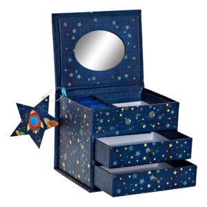 Guarda-Joias DKD Home Decor Cosmos (13 x 10 x 10.2 cm)
