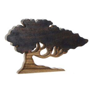 Figura Decorativa DKD Home Decor Acácia Árvore (40 x 4 x 24 cm)