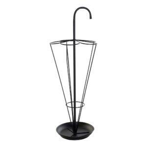 Suporte para guarda-chuvas DKD Home Decor Preto Metal (29 x 29 x 80 cm)