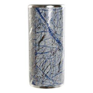 Suporte para guarda-chuvas DKD Home Decor Azul Porcelana (21 x 21 x 46.5 cm)