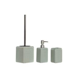 Conjunto de Banho DKD Home Decor Aço ABS Grés Tradicional (3 pcs)