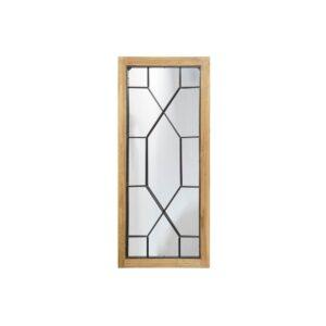 Espelho de parede DKD Home Decor Metal Abeto (48 x 3 x 107 cm)