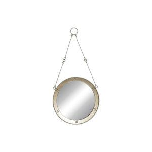 Espelho de parede DKD Home Decor Metal Cristal (30 x 2.5 x 63 cm)