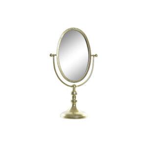 Espelho DKD Home Decor Metal Cristal (25 x 13.5 x 43 cm)