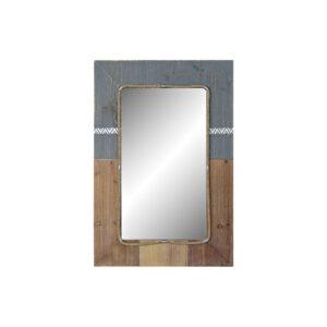 Espelho de parede DKD Home Decor Abeto (60 x 3.5 x 89.5 cm)