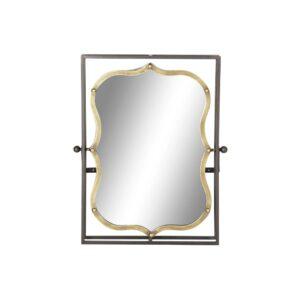 Espelho de parede DKD Home Decor Metal (51.5 x 12 x 65 cm)