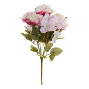 Flores Decorativas DKD Home Decor Bouquet PVC (20 x 20 x 33 cm)