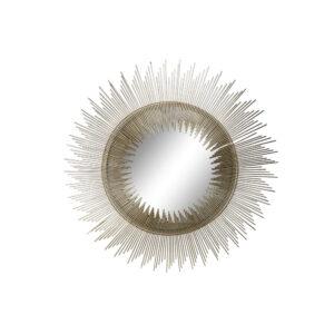 Espelho de parede DKD Home Decor Cristal Ferro (82 x 2 x 82 cm)