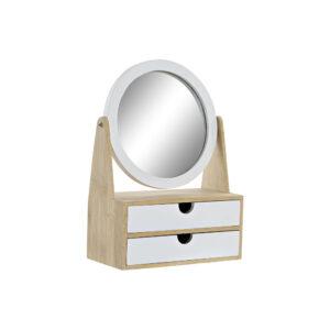 Guarda-Joias DKD Home Decor Madeira Tradicional Espelho (20 x 10 x 28 cm)