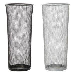 2 Suportes para guarda-chuvas DKD Home Decor Metal (26 x 26 x 57 cm)