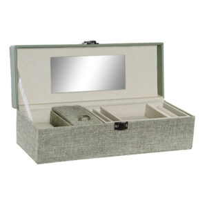 Guarda-Joias DKD Home Decor Espelho Poliéster Tradicional (28 x 10 x 8 cm)