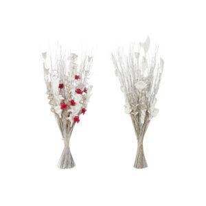 2 Ramos DKD Home Decor Bloemen Fibra de coco  (40 x 40 x 85 cm)