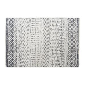 Tapete DKD Home Decor Branco Cinzento Poliéster Algodão (160 x 230 x 1 cm)
