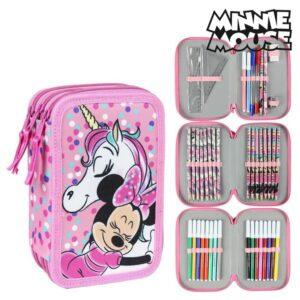 Estojo Triplo Minnie Mouse 78735