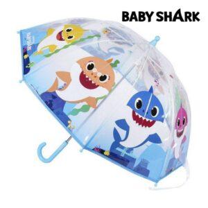 Guarda-Chuva Baby Shark Transparente (45 cm)