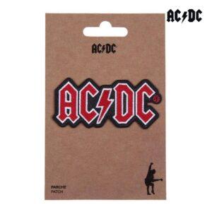 Adesivo ACDC Vermelho (10 x 14,5 cm)