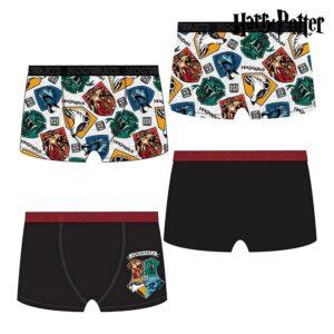 2 Boxers de Homem Harry Potter Multicolor  S