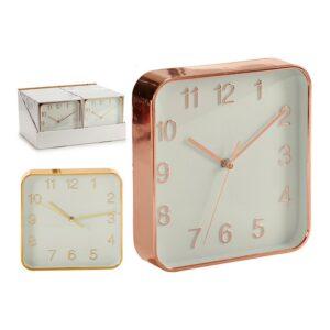 Relógio de Parede Vidro Plástico (19 x 3,5 x 19 cm)