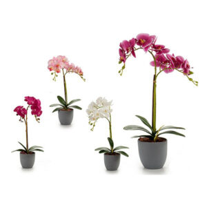 Flor Decorativa Plástico Orquídea