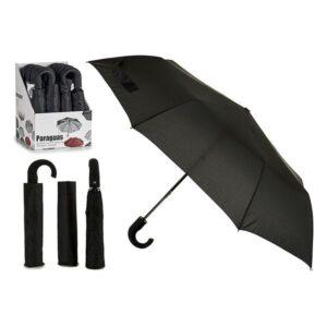 Guarda-chuva Dobrável Preto de viagem (35 cm)
