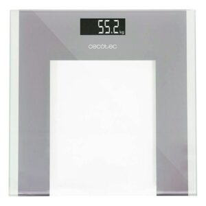 Balança digital para casa de banho Cecotec Cristal Ecrã LCD Fita Métrica (Refurbished B)