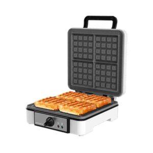 Máquina para Waffles Cecotec Fun Gofrestone 4Inox 1200 W