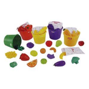 Playset Cestas Fruta (30 pcs)