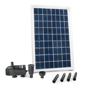 Ubbink Conjunto SolarMax 600 com painel solar e bomba - PORTES GRÁTIS