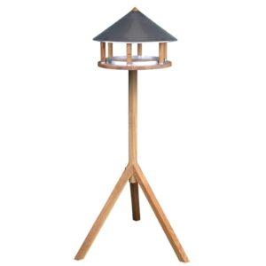 Esschert Design Comedouro aves c/ telhado de zinco triangular FB431 - PORTES GRÁTIS
